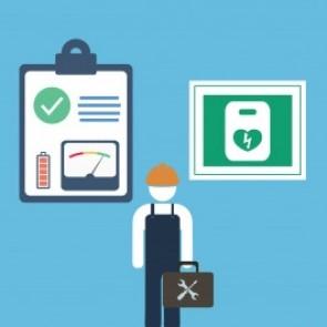 AED + Wandkast Extra Onderhoudsplan met Diefstalverzekering